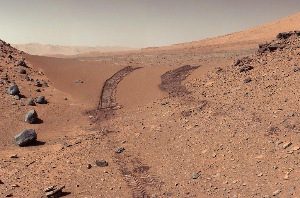 Curiosity's View of Martian Soil
