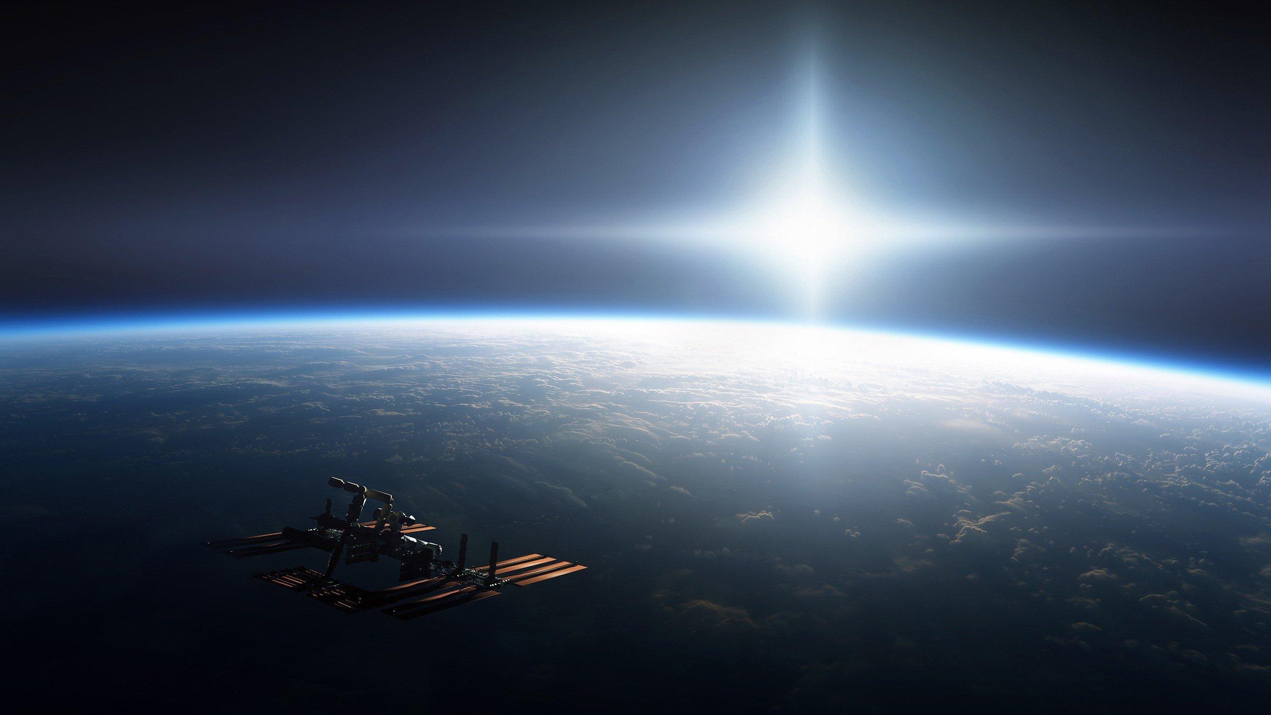 Earth Sun Space
