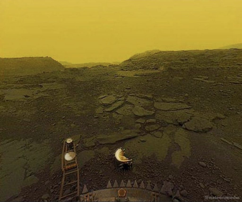 Venus' Surface