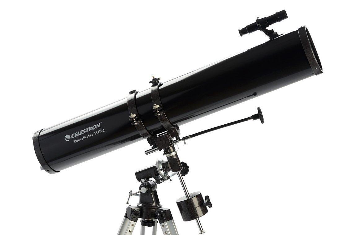 Celestron PowerSeeker 114EQ Optical Tube 2