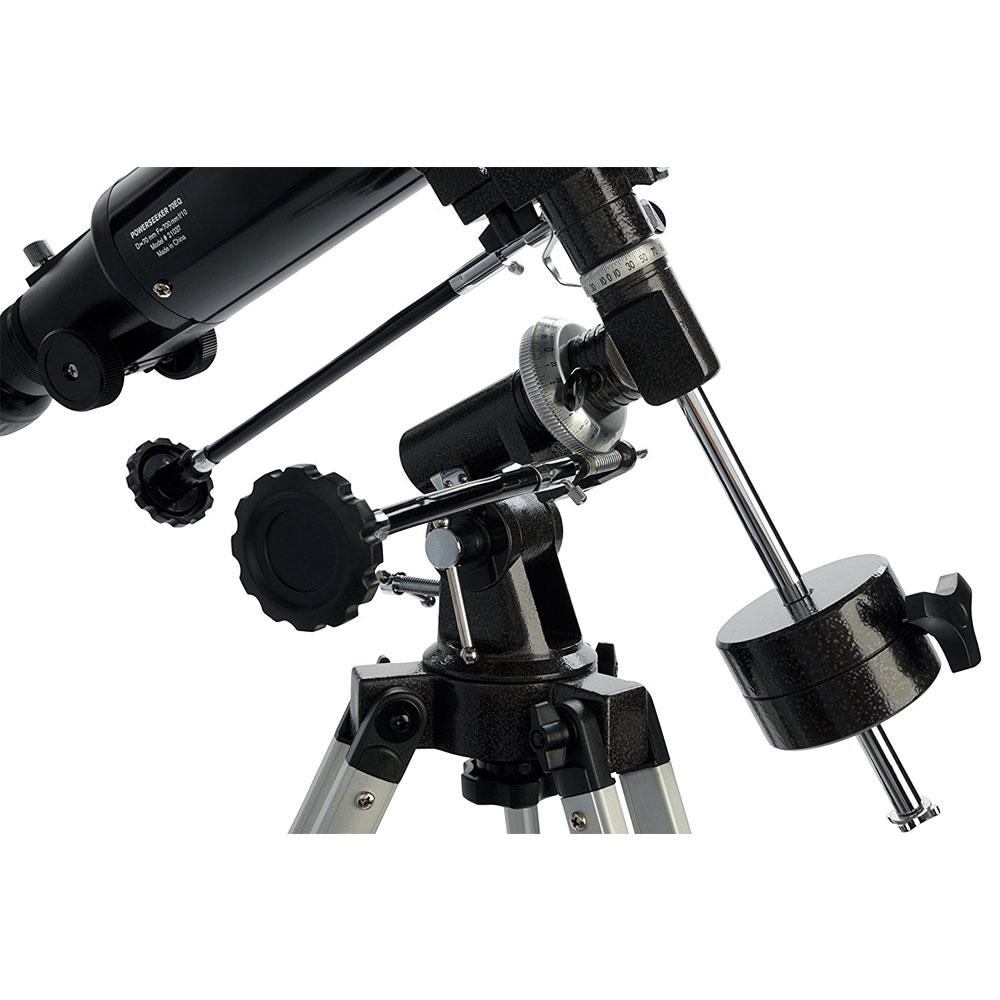 Celestron PowerSeeker 70EQ Telescope Review Mount