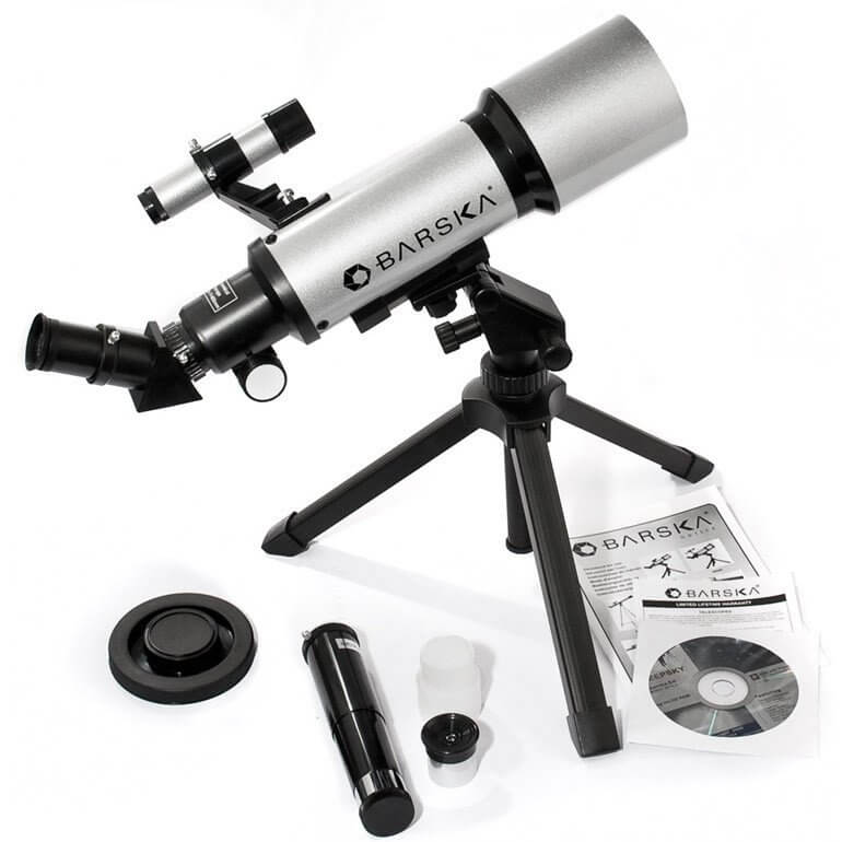 Barska StarWatcher 400x70 Review Accessories