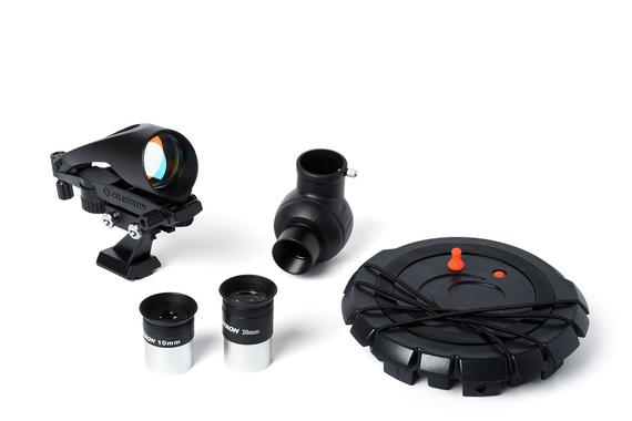 Celestron Inspire 70AZ Review Accessories