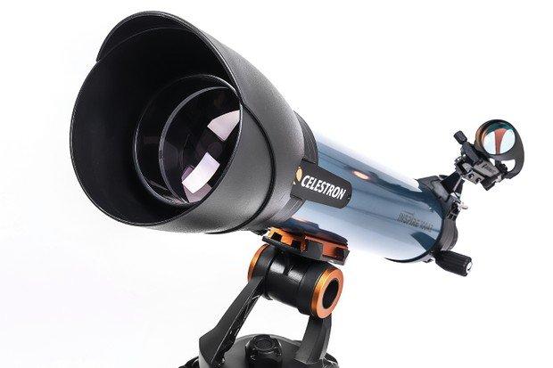 Celestron Inspire 100AZ Review Optics