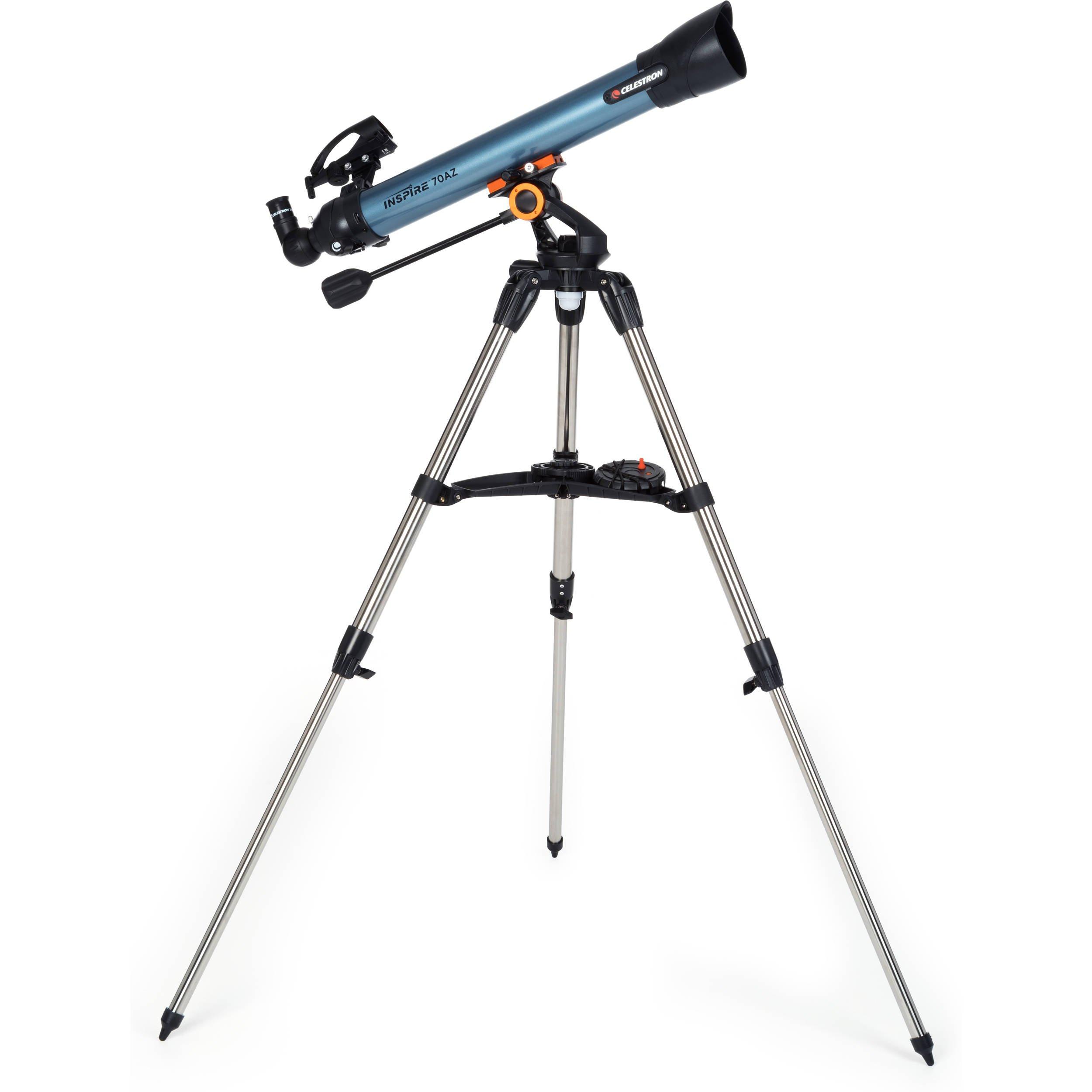 Celestron Inspire 70AZ Refractor Telescope Review
