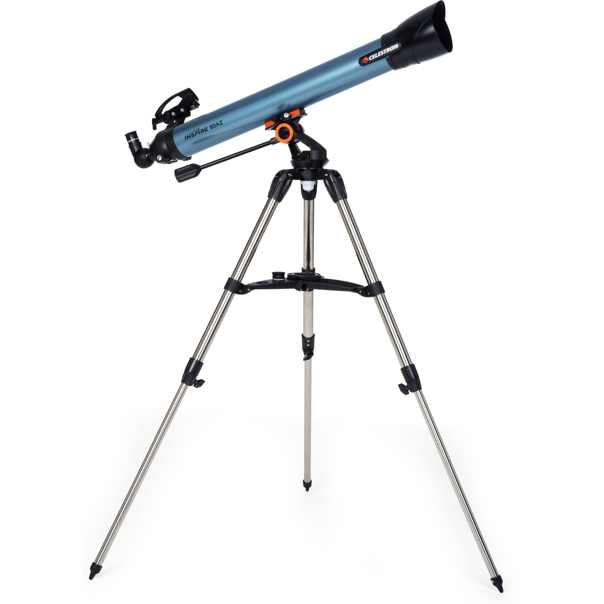 Celestron Inspire 80AZ Refractor Telescope Review Cover