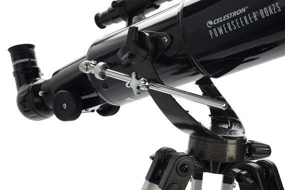 Celestron PowerSeeker 80AZ Review Slow-Mo