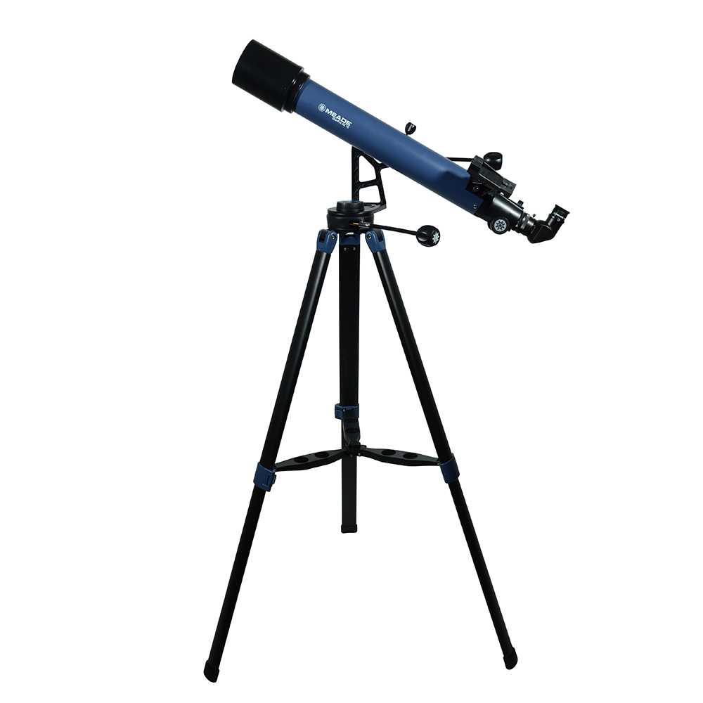 Meade 70mm StarPro AZ Telescope Review Front Side