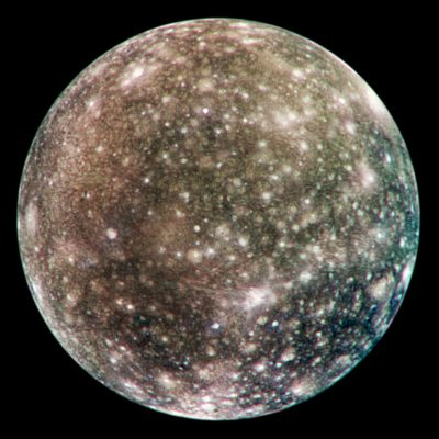 Callisto, Galileo Spacecraft, NASA