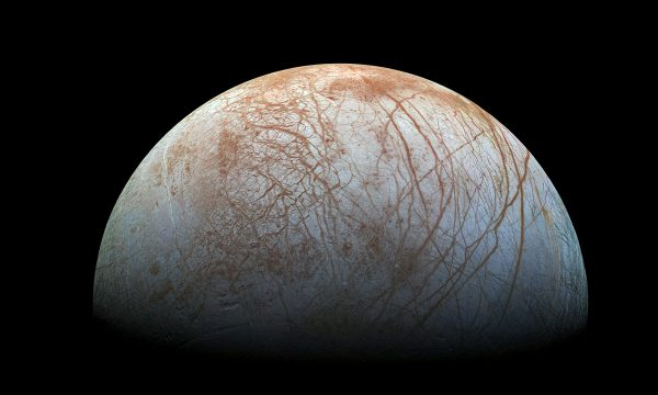 Europa, False Colour, NASA