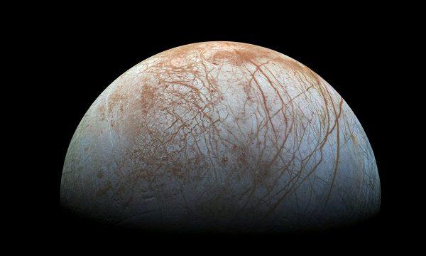 Europa, False Colour, NASA