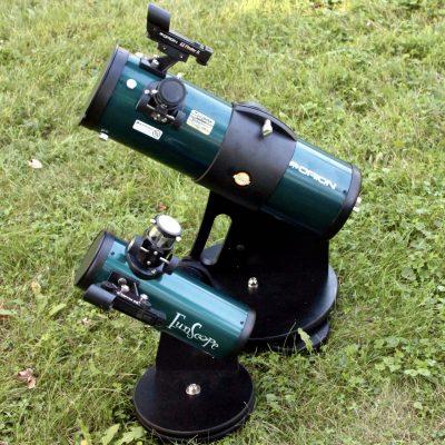 Orion StarBlast 4.5 Astro Reflector Telescope with FunScope