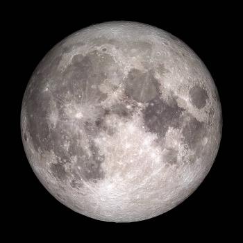 The Moon, NASA